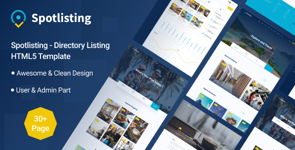 [Free Download] Spotlisting – Directory Listing HTML5 Template (Nulled) [Latest Version]