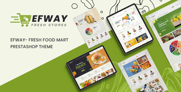 [Free Download] Efway – Fresh Food Mart Prestashop Theme (Nulled) [Latest Version]