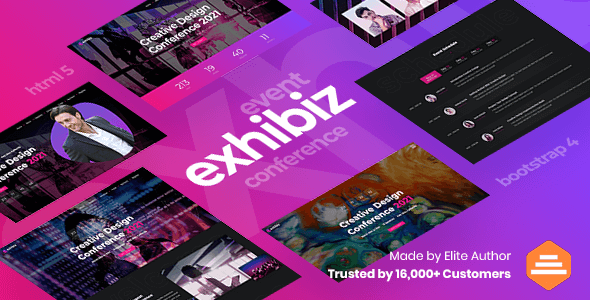 [Free Download] Exhibiz – Event, Conference and Meetup (Nulled) [Latest Version]