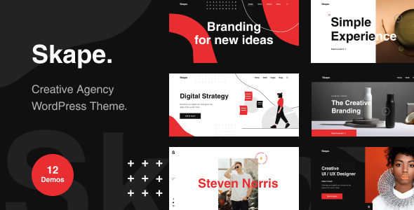 [Free Download] Skape – Creative & Modern Agency WordPress Theme (Nulled) [Latest Version]