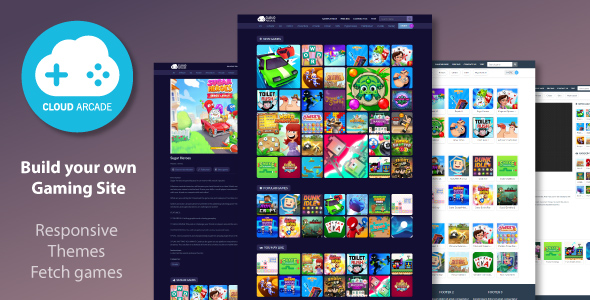 [Free Download] CloudArcade – HTML5 or Web Game Portal CMS (Nulled) [Latest Version]