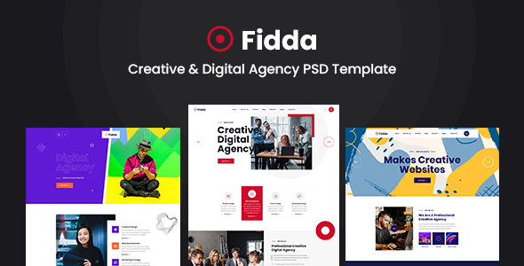 [Free Download] Fidda – Portfolio & Agency PSD Template (Nulled) [Latest Version]