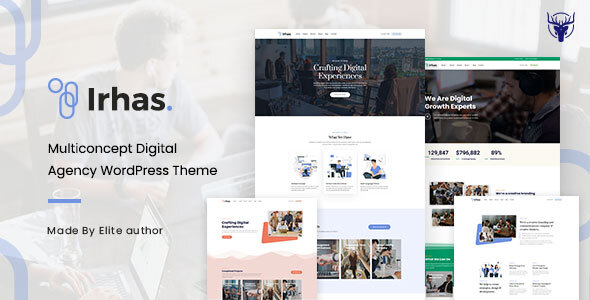 [Free Download] Irhas | Digital Agency WordPress Theme (Nulled) [Latest Version]