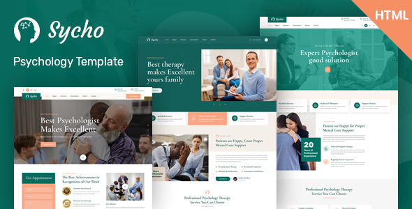 [Free Download] Sycho – Psychology & Counseling HTML5 Template (Nulled) [Latest Version]