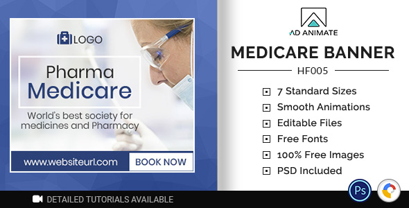 [Free Download] Health & Fitness | Medicare Banner (HF005) (Nulled) [Latest Version]