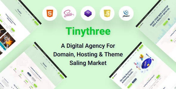 [Free Download] Miyami- Domain hosting html template (Nulled) [Latest Version]