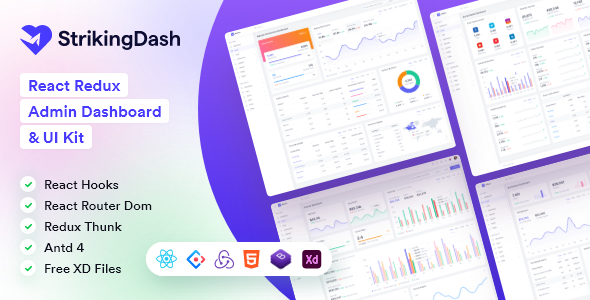 [Free Download] StrikingDash – React Admin & Dashboard Template (Nulled) [Latest Version]