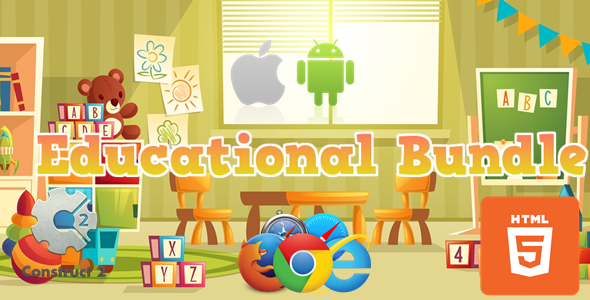 [Free Download] Educational Bundle – 7  Educational Games HTML5 (.Capx) (Nulled) [Latest Version]