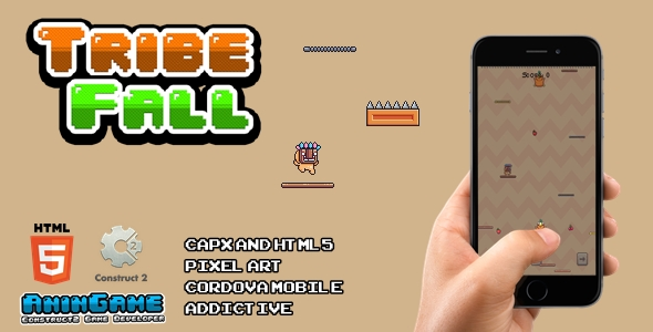 [Free Download] Tribe Fall – HTML5 (Construct2 Game) (Nulled) [Latest Version]