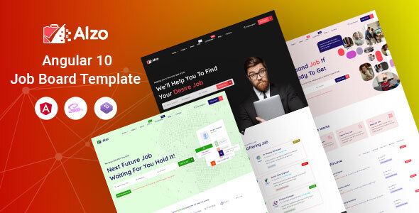 [Free Download] Alzo – Angular Job Board Template (Nulled) [Latest Version]