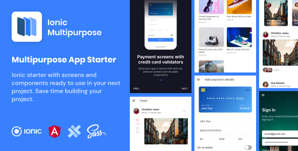 [Free Download] Ionic Multipurpose | Ionic 5 | Angular | UI Theme | Template App | Starter App & Components (Nulled) [Latest Version]