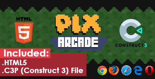[Free Download] Pix Arcade – HTML5 Game (Nulled) [Latest Version]
