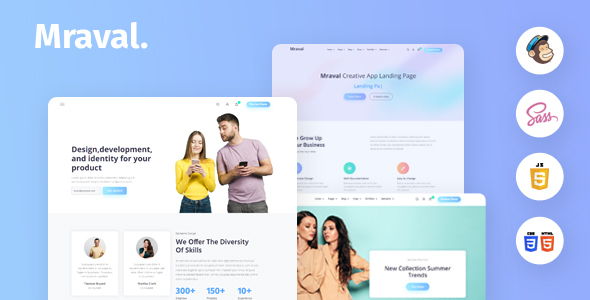 [Free Download] Mraval Multipurpose HTML Template (Nulled) [Latest Version]