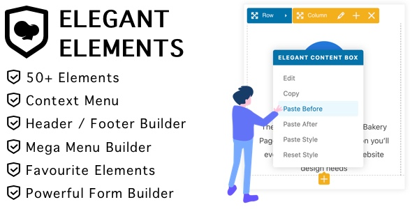 [Free Download] Elegant Elements for WPBakery Page Builder (Nulled) [Latest Version]