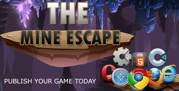 [Free Download] The Mine Escape –  | HTML5 Construct 2 and Construct 3 (Nulled) [Latest Version]