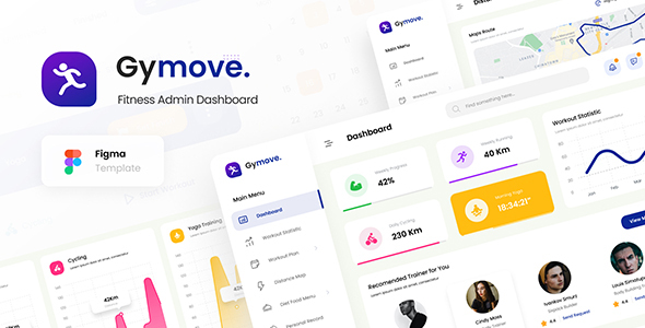 [Free Download] Gymove – Fitness Admin Dashboard Template (Nulled) [Latest Version]