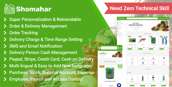 [Free Download] Shomahar – Grocery and Medicine Order & Delivery System (Nulled) [Latest Version]