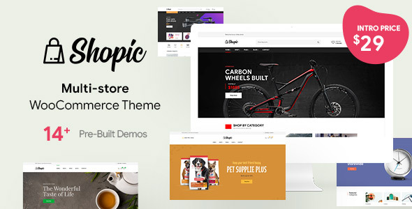 [Free Download] Shopic – Multipurpose WooCommerce WordPress Theme (Nulled) [Latest Version]