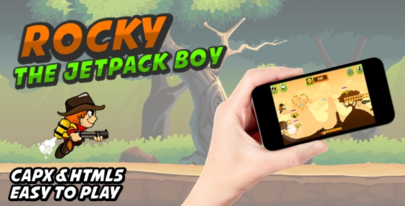 [Free Download] Rocky The Jetpack Boy (Nulled) [Latest Version]
