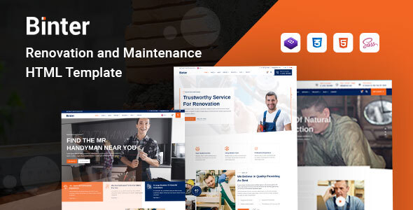 [Free Download] Binter – Renovation & Building Company HTML Template (Nulled) [Latest Version]