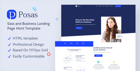 [Free Download] Posas – Saas Software Landing Page Template (Nulled) [Latest Version]