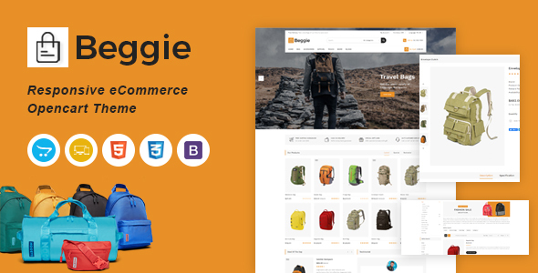 [Free Download] Beggie Responsive OpenCart Theme (Nulled) [Latest Version]