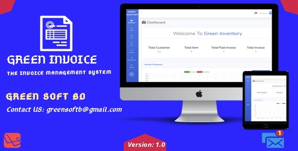 [Free Download] Green Invoice – The Invoice Management System (Nulled) [Latest Version]
