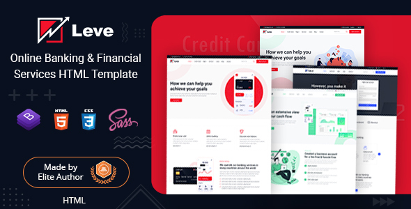 [Free Download] Leve – Banking & Payment Processing HTML Template (Nulled) [Latest Version]