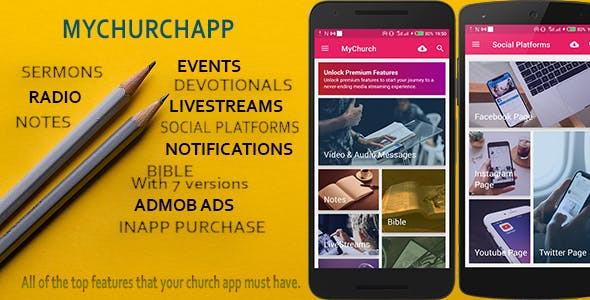 [Free Download] My Church App – Android & IOS Flutter Church Application (Nulled) [Latest Version]