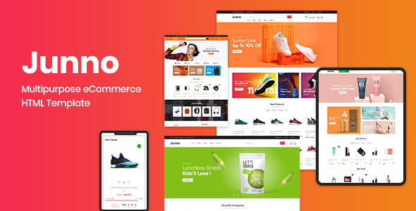 [Free Download] Junno – Multipurpose eCommerce HTML Template (Nulled) [Latest Version]