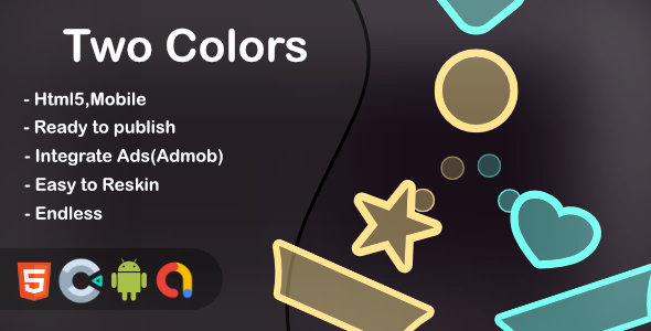 [Free Download] Two Colors (Html5 + Construct 3 +Mobile) (Nulled) [Latest Version]