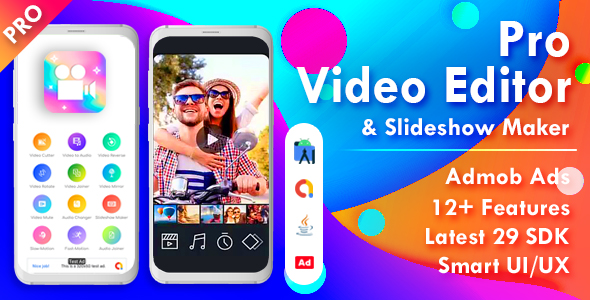 [Free Download] Pro Video Editor & Photo Video Maker for Android (v.1.2) (Nulled) [Latest Version]