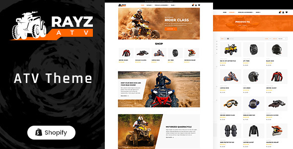 [Free Download] Rayz – ATV Motorsports Shopify Theme (Nulled) [Latest Version]