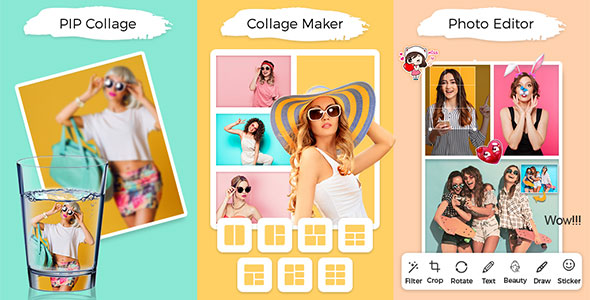 [Free Download] PIP & Photo Collage Maker With Photo Editor &ScrapBook(With Banner,Interstitial &Adaptive BannerAds) (Nulled) [Latest Version]