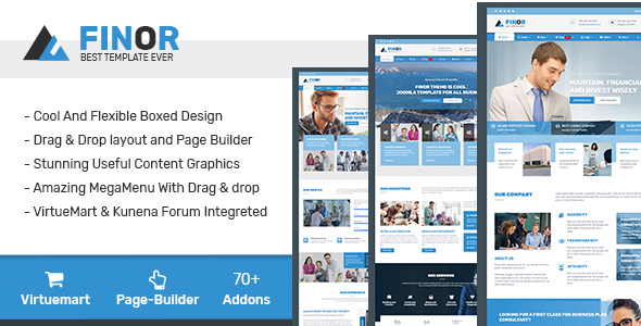[Free Download] Finor – Multi-Purpose Joomla Template (Nulled) [Latest Version]