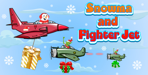 [Free Download] Snowman and Fighter Jet (CAPX and HTML5) Christmas Game (Nulled) [Latest Version]