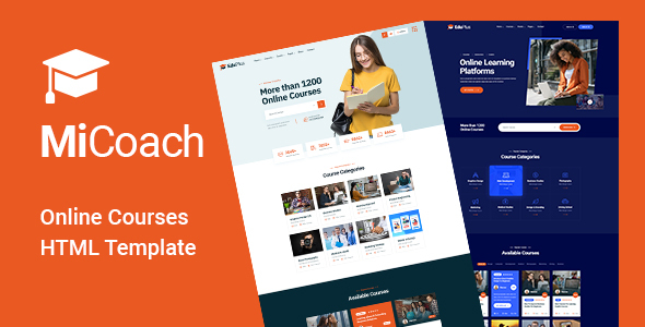 [Free Download] MiCoach – Online Courses HTML5 Template (Nulled) [Latest Version]