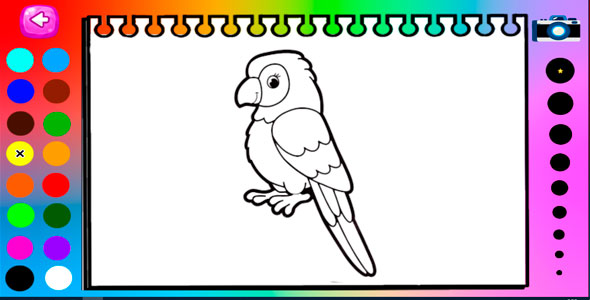 [Free Download] Coloring Book for Kids – HTML5 and Mobile .capx (Nulled) [Latest Version]