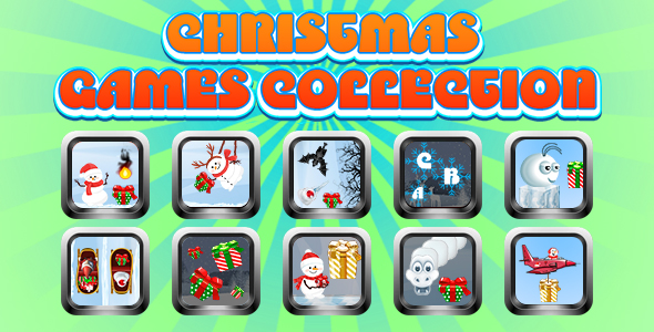 [Free Download] Game Collection 12 (CAPX and HTML5) 10 Games for Christmas (Nulled) [Latest Version]