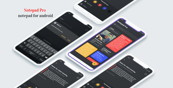 [Free Download] Notepad 2020 – keep notes, notepad pro for android (Nulled) [Latest Version]