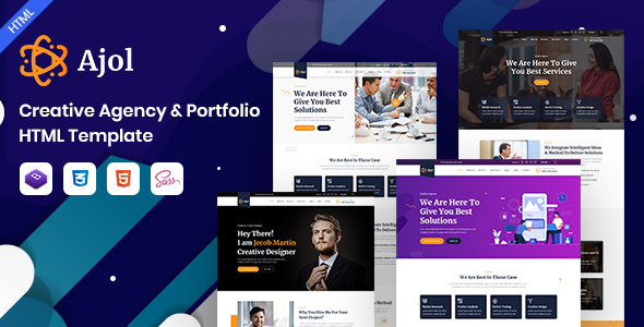 [Free Download] Ajol – Creative Agency Portfolio HTML Template (Nulled) [Latest Version]
