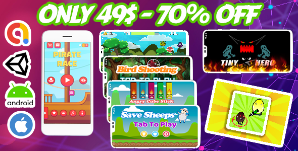 [Free Download] Attractive Bundle 7 Unity Casual Game – Admob + Facebook Ads – Ready to Publish (Nulled) [Latest Version]