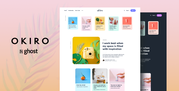 [Free Download] Okiro – Multipurpose Ghost Blog Theme (Nulled) [Latest Version]