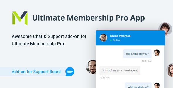 [Free Download] Ultimate Membership Pro Chat & Tickets App for Support Board (Nulled) [Latest Version]