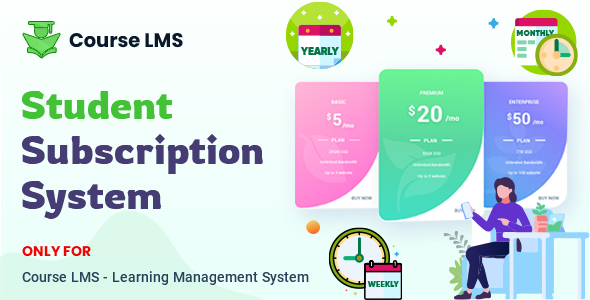 [Free Download] Course LMS Student Subscription addon (Nulled) [Latest Version]