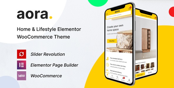 [Free Download] Aora – Home & Lifestyle Elementor WooCommerce Theme (Nulled) [Latest Version]