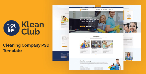 [Free Download] Kleanclub – Cleaning Service PSD Template (Nulled) [Latest Version]