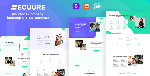 [Free Download] Secuure – Insurance Company bootsrap 5 HTML Template (Nulled) [Latest Version]