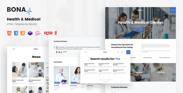 [Free Download] Bona – Health & Medical HTML Template (Nulled) [Latest Version]