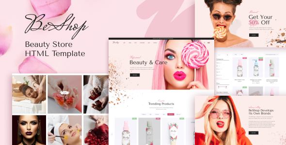 [Free Download] BeShop – Beauty eCommerce HTML Template (Nulled) [Latest Version]